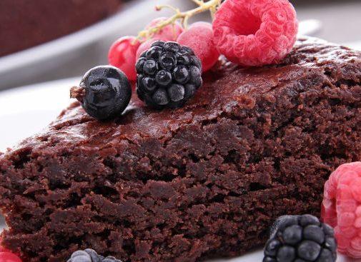 Dietetyczne ciasto kakaowe z kaszy jaglanej
