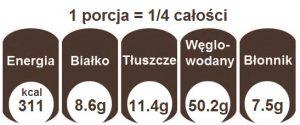 kasza pęczak z warzywami kcal