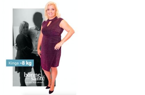 """Pani Kinga – finalistka projektu """"Odkryj siebie na nowo"""" schudła 8 kg!"""