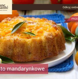 Przepis na ciasto mandarynkowe Bonne Sante Rzeszów Krakowska-Południe