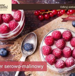 Przepis na deser malinowo-serowy Bonne Sante Rzeszów Krakowska-Południe