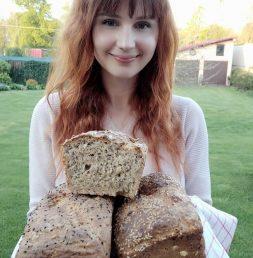 Przepis na domowy chleb dietetyk Dorota Ziaja